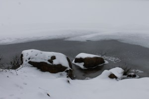 Canopus rocks in snow