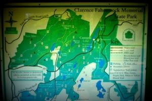 park map - Fahnestock