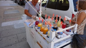 shaved ice stand