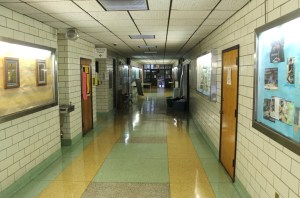 SPU hallway