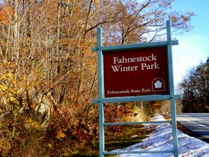 winter park sign