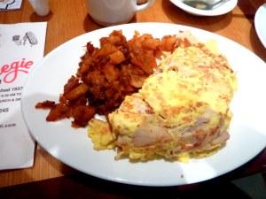 Carnegie Deli omelet