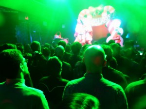 crowd at the Residents