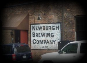 sign for Newburgh Brewing Company