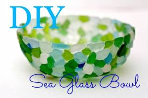 sea glass bowl
